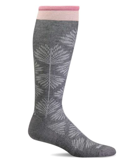 Sockwell Full Floral charcoal